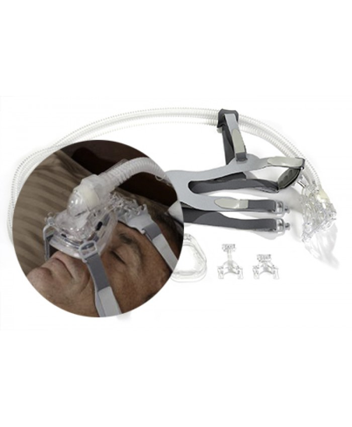 Transcend H6B Waterless Humidification System + Ring Adapter S/M size (for Philips ComfortGel/ResMed Mirage Nasal Masks)